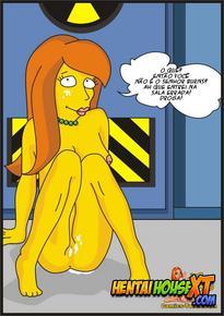 A nova secretaria ( Simpsons )
