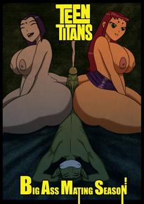 Encontro de rabudas – Teens titans