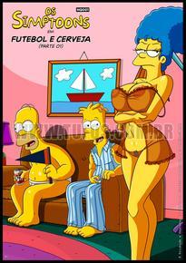 Futebol e Cerveja – Simpsons