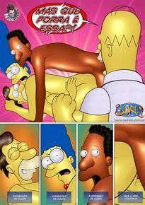 O fugitivo errante 02 – Simpsons