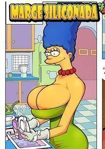 O retorno da Marge siliconada