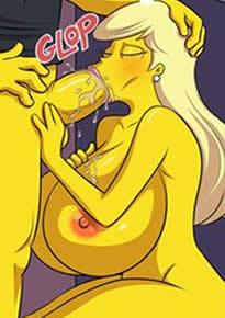 Os Simpsons Hentai – Fodendo a gostosa