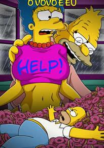 Os Simpsons Hentai: Fodendo com o velho
