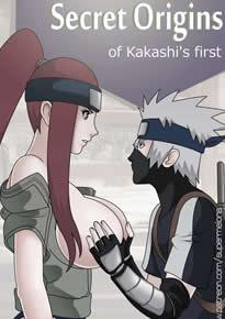 A primeira foda do Kakashi