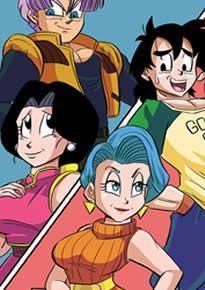 Dragon Ball Hentai – Trocando as mães