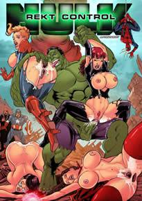 Hulk comendo buceta